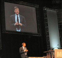 Bill Gates on Stage